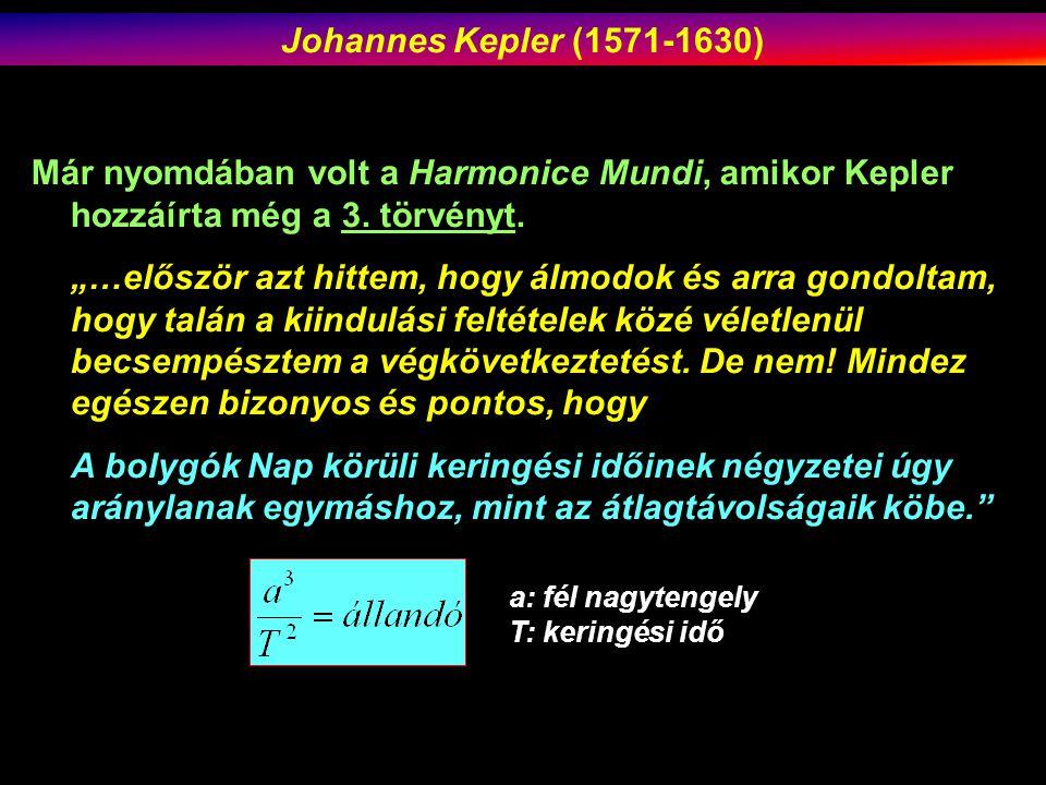 Már nyomdában volt a Harmonice Mundi, amikor Kepler hozzáírta még a 3.