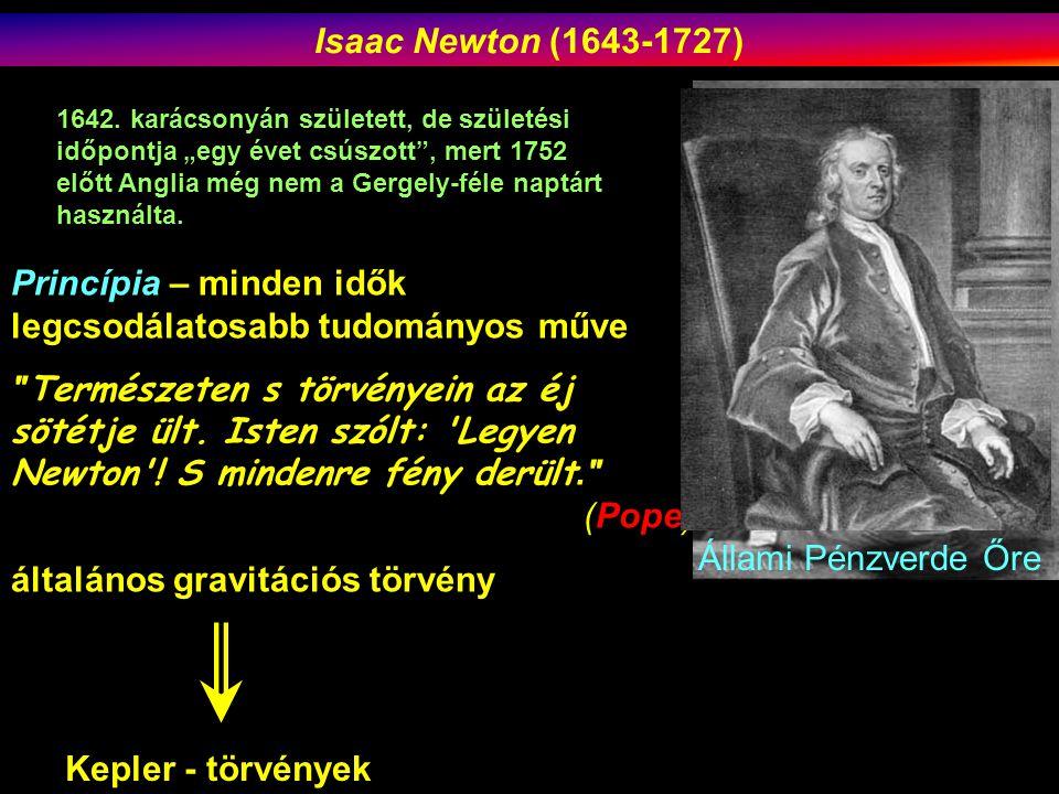Princípia – minden idők legcsodálatosabb tudományos műve Természeten s törvényein az éj sötétje ült.