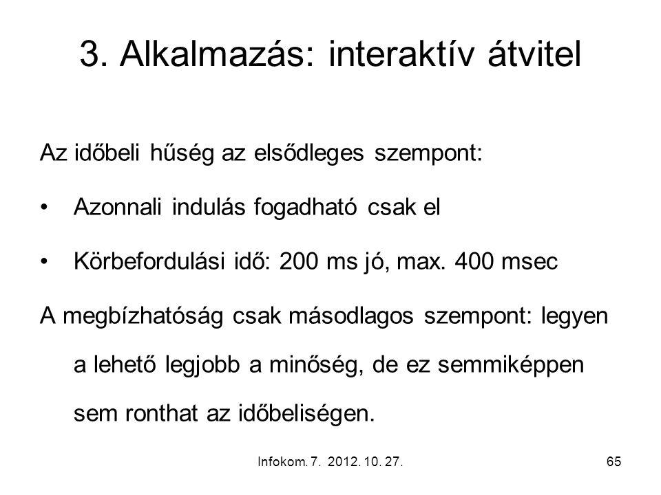 Infokom. 7. 2012. 10. 27.65 3.