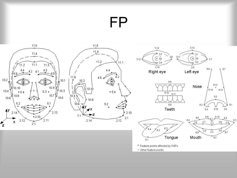 FDP Feladata a 2 vagy 3 dimenziós modell alakjának, textúrájának leírása. Ezen felül alapot szolgáltat az animáláshoz, de magát a mozgatást nem ő végz