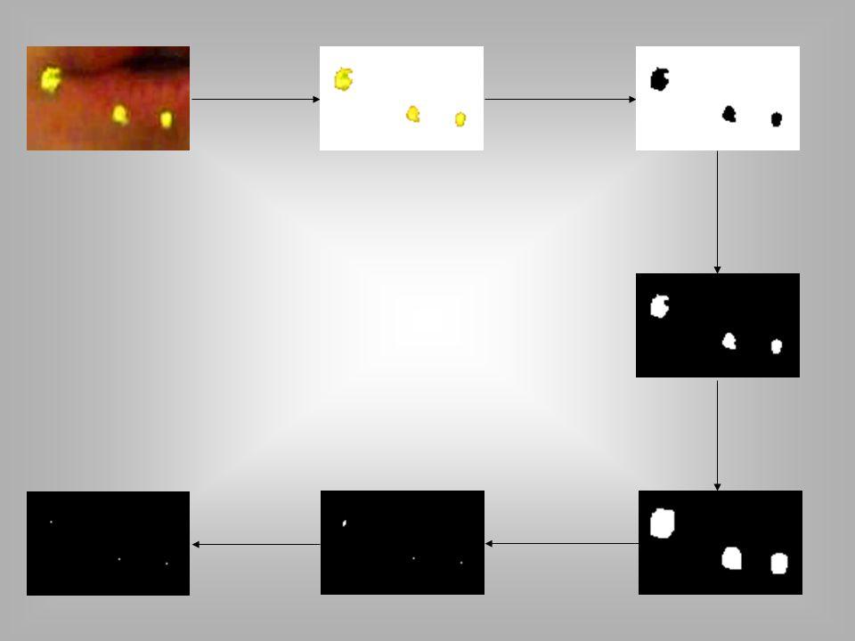 """Szűrés -deinterlace az frame-ek közti átmenet """"simítására -HSV adjust a saturation eltolására, így a világosabb pontok jobban kiemelődtek"""