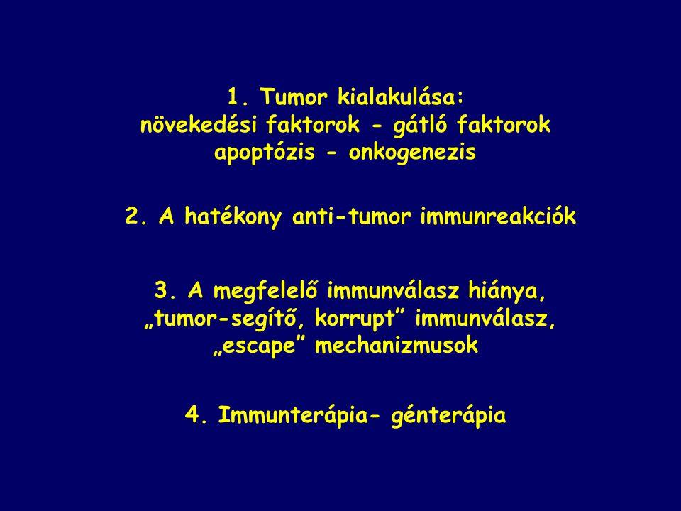 protoonkogének tumor szuppresszor gének egészséges állapot