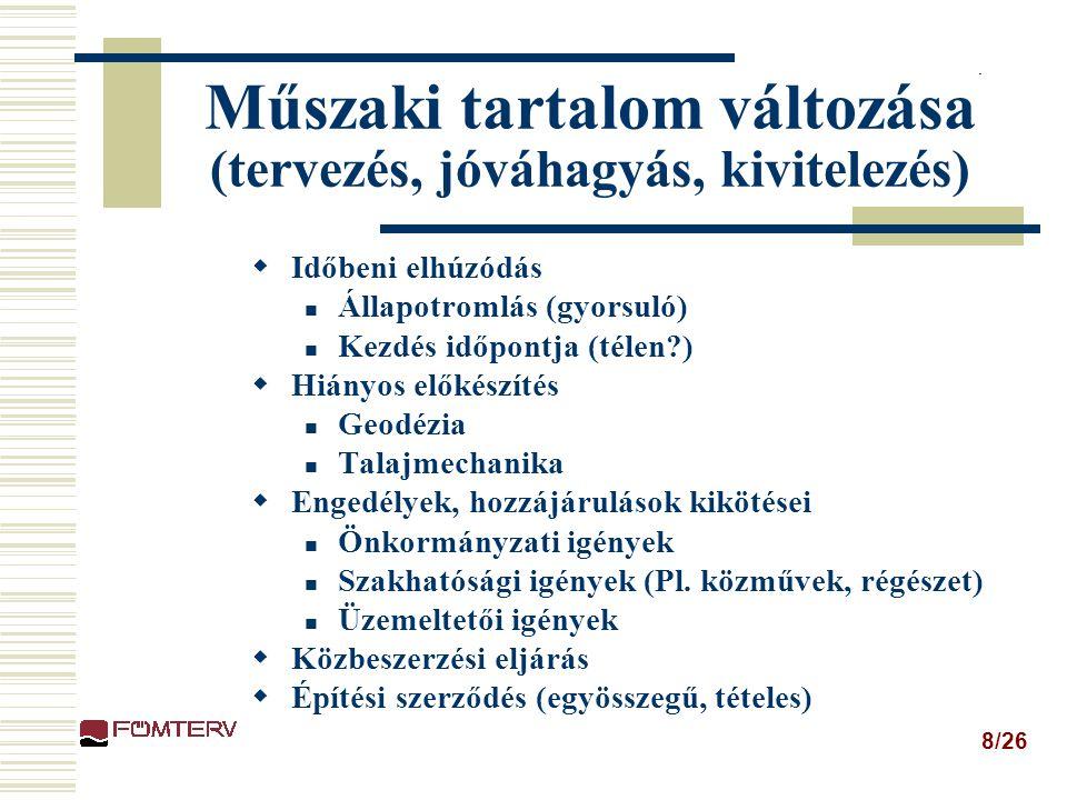 19/26 Esettanulmányok – Budapest, Észak-déli regionális gyorsvasút I. ütem