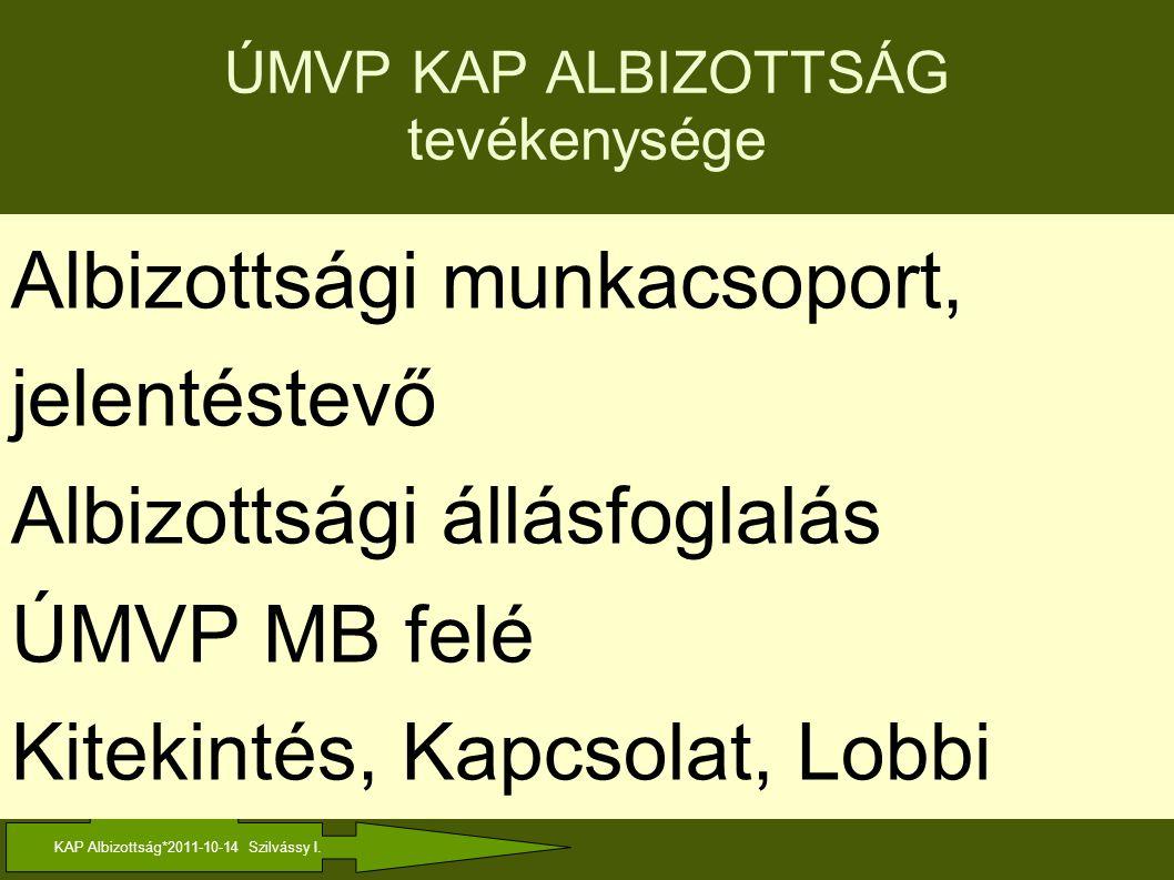 KAP Albizottság*2011-10-14 Szilvássy I.