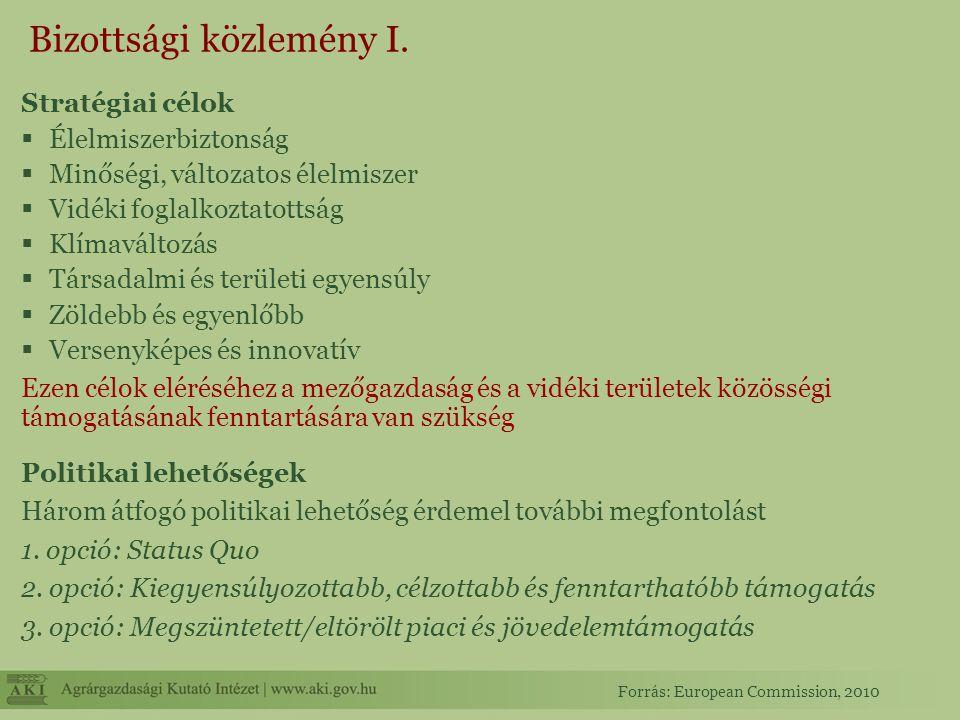 Bizottsági közlemény II.