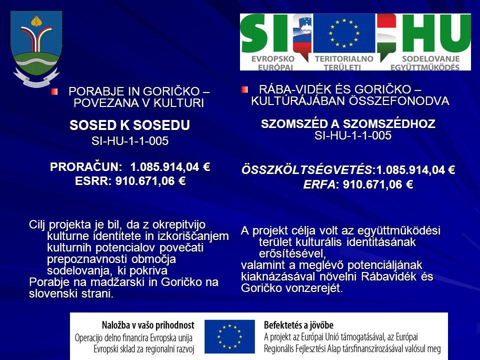 Projekti pomenijo pripravljenost slovenske manjšine za razvoj pokrajine, kjer živi.