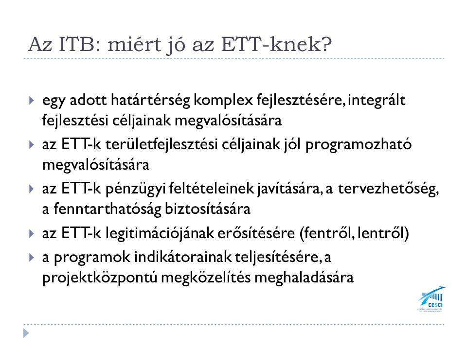 Az ITB: miért jó az ETT-knek.