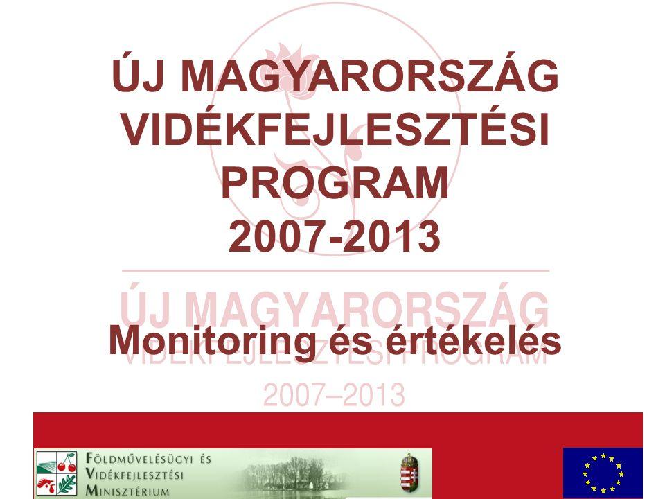 AaAa ÚJ MAGYARORSZÁG VIDÉKFEJLESZTÉSI PROGRAM 2007-2013 Monitoring és értékelés