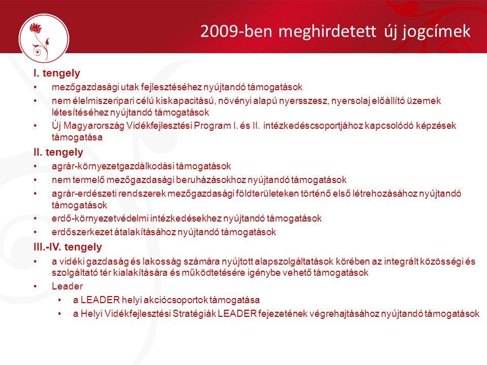 Programmódosítások Forrásátcsoportosítások Időszaki többlet EU-forrás lehívási lehetőség (frontloading) Előleg fizetés (I.