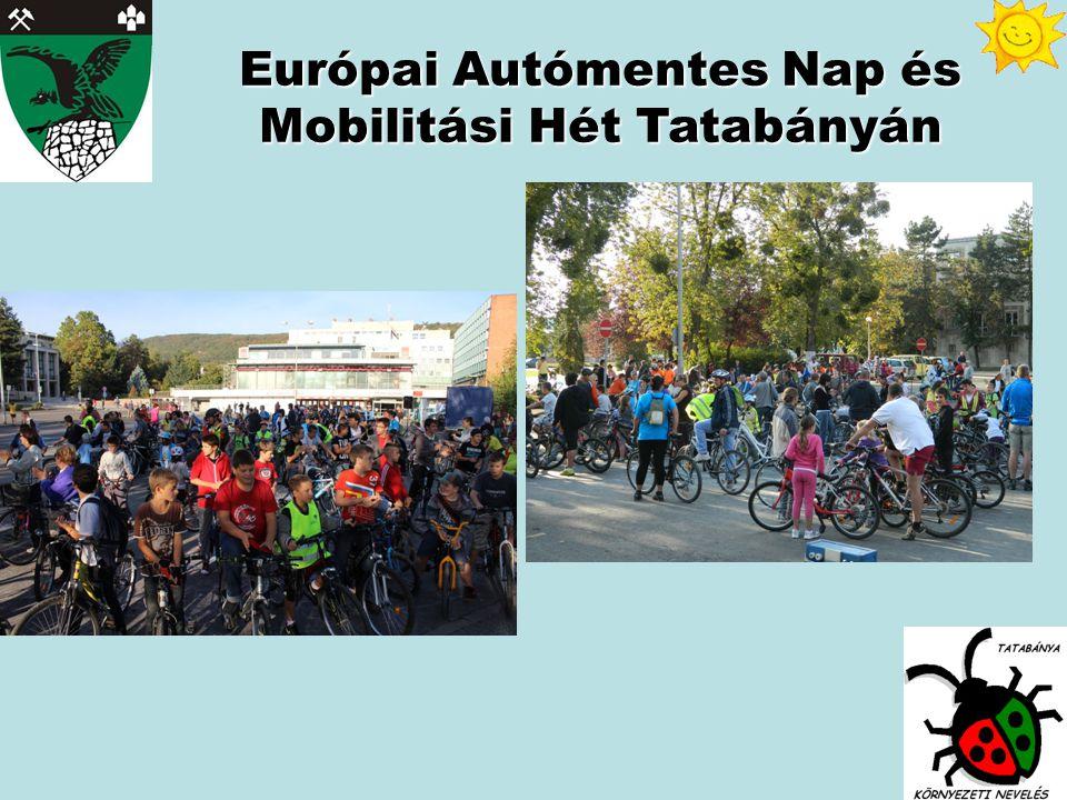 Európai Autómentes Nap és Mobilitási Hét Tatabányán