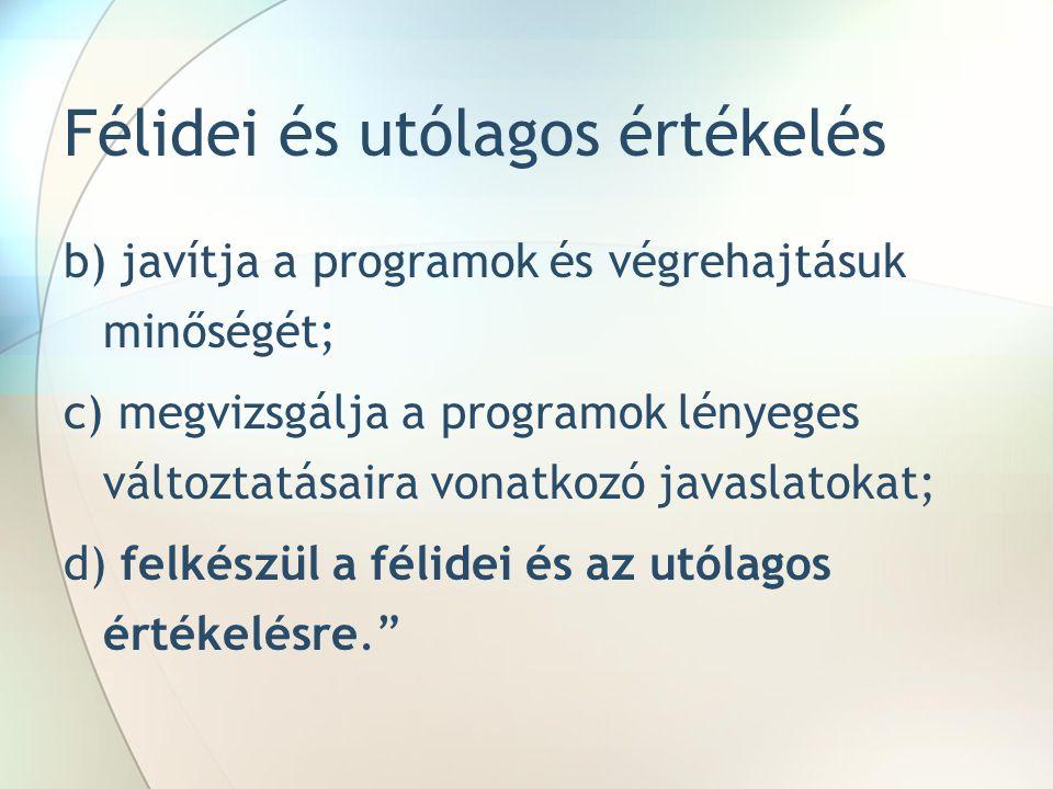 Vonatkozó útmutatók II.