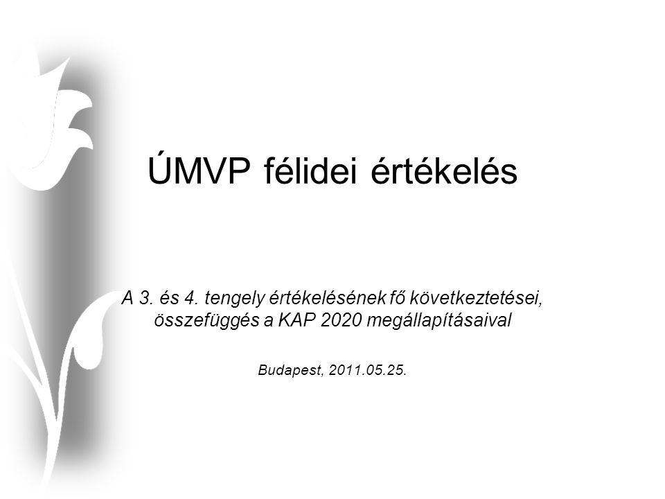 ÚMVP félidei értékelés A 3. és 4.
