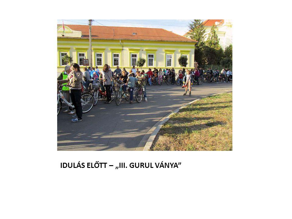 """IDULÁS ELŐTT – """"III. GURUL VÁNYA"""