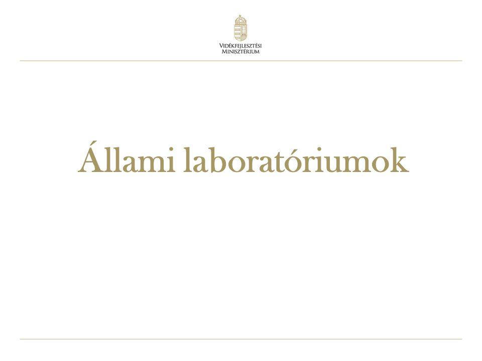 34 Állami laboratóriumok