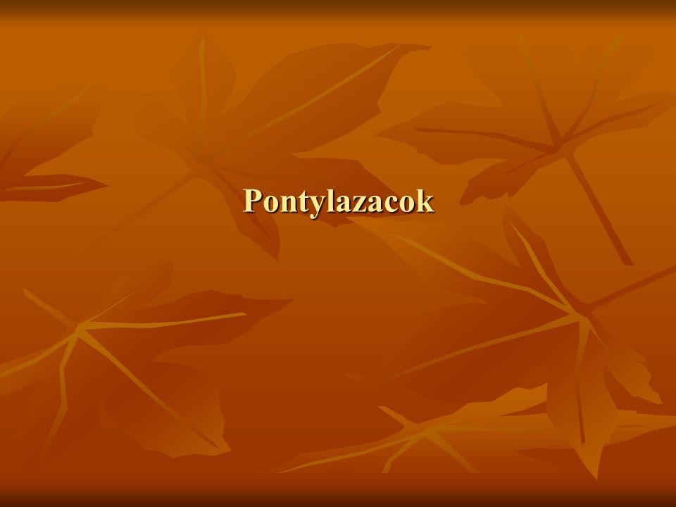 Pontylazacok