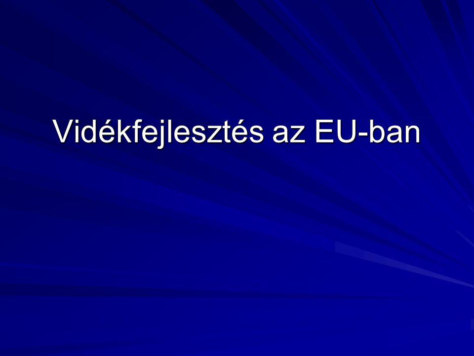 Vidékfejlesztés az EU-ban