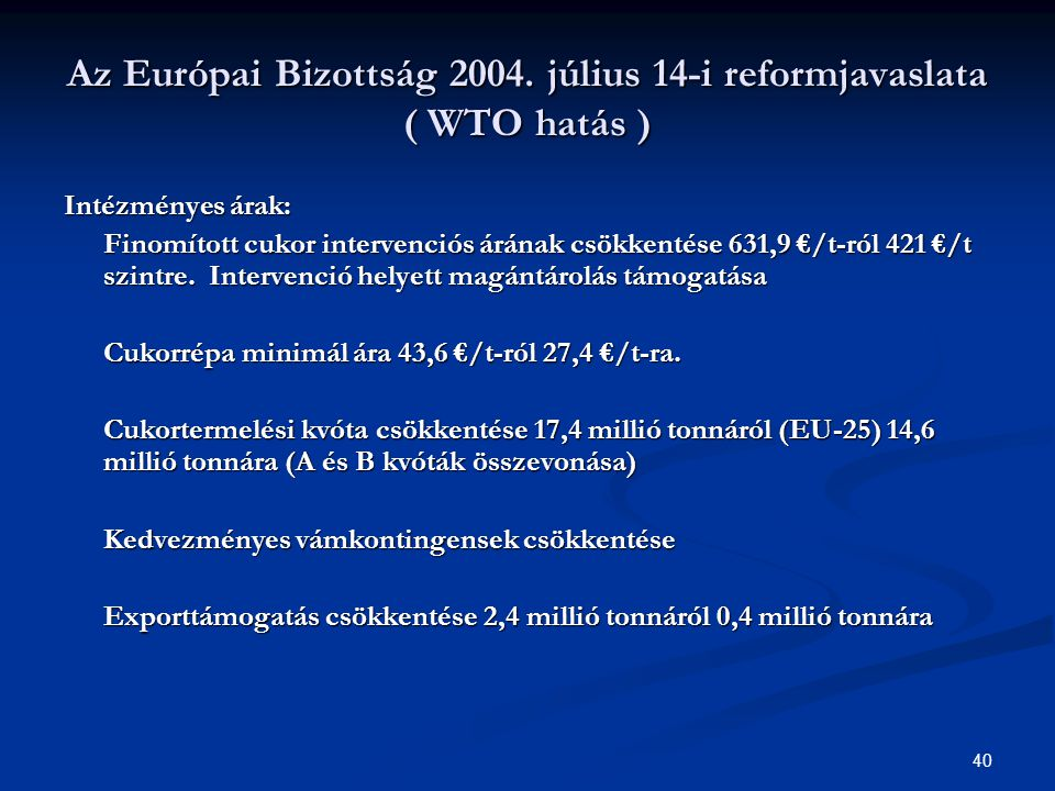 40 Az Európai Bizottság 2004.