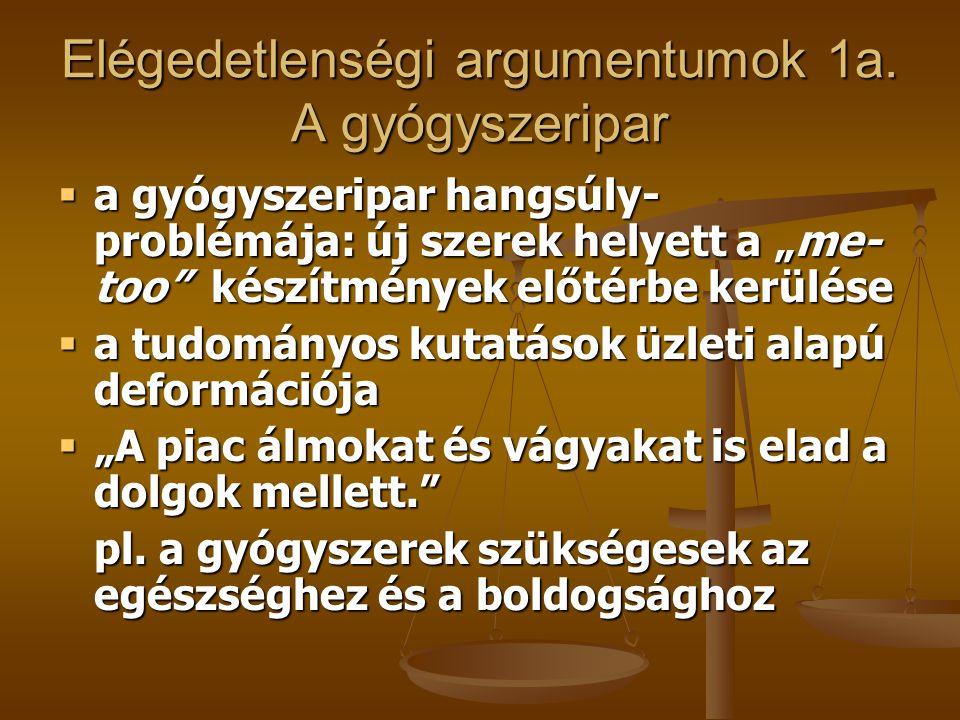 Elégedetlenségi argumentumok 1b.