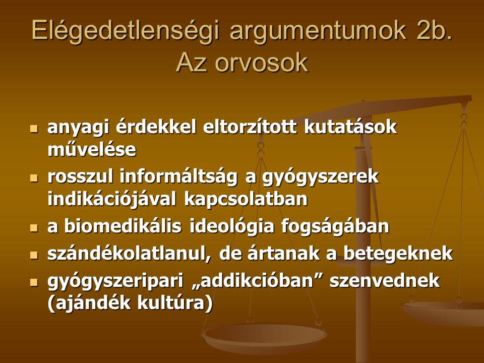 A kritika argumentumai 3.