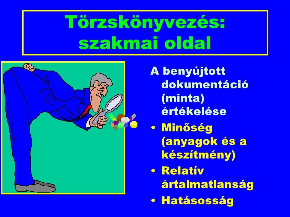 A beadvány felépítése Adminisztratív adatok (pl.