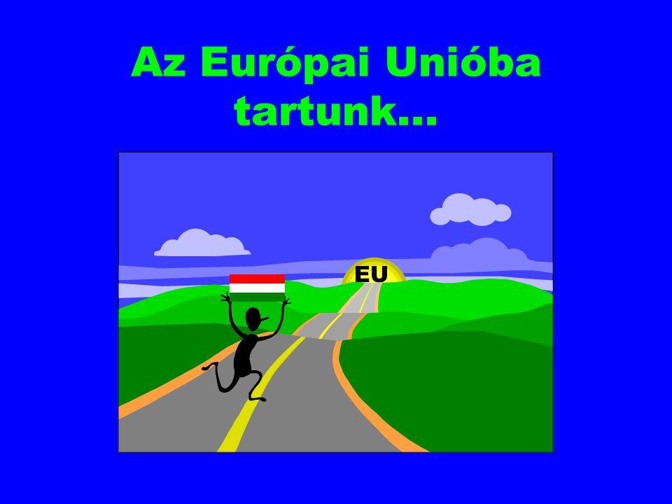 Ráadásul: EU- csatlakozás: robogó vonatra igyekszünk...