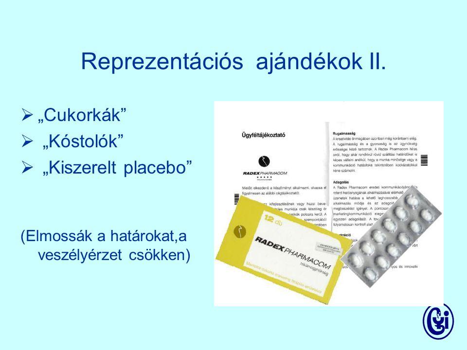 Reprezentációs ajándékok I.