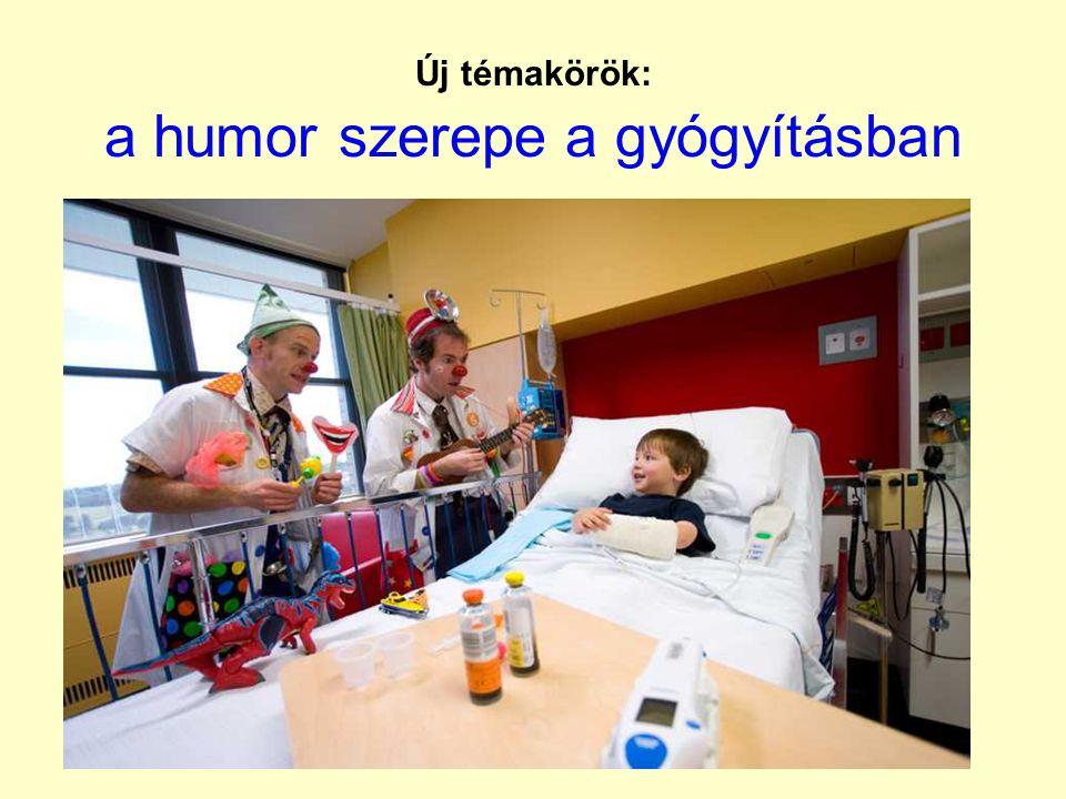 Új témakörök: a humor szerepe a gyógyításban