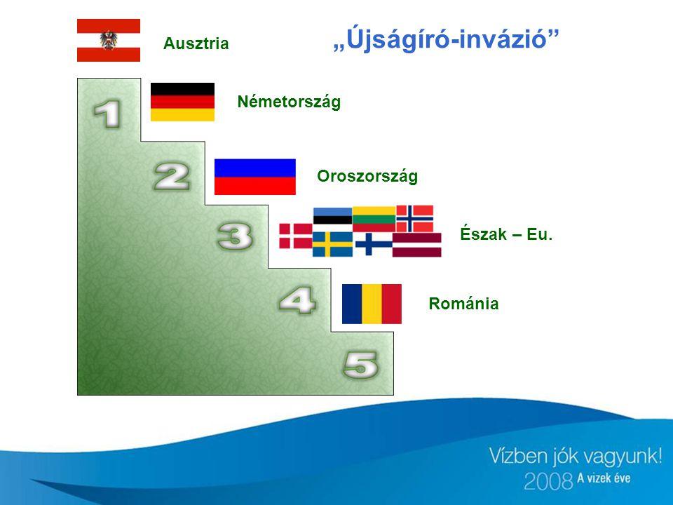 """Ausztria Németország Oroszország Észak – Eu. Románia """"Újságíró-invázió"""""""