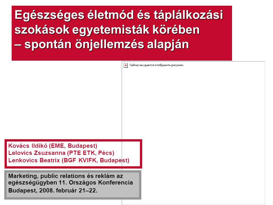 """www.szivbarat.hu Company LOGO """"Egyetemisták Egészséges Táplálkozásáért (EGYET Program)  Nem reprezentatív, név nélküli kérdőíves felmérés  Nappali tagozatos felsőoktatási hallgatók körében  Az egyetemisták megítélése életmódjukról és táplálkozási szokásaikról, valamint a Szívbarát termékekről  A Szívbarát program által 2006–2007-ben folytatott EGYET Program keretében összesen 681 fiatal felnőttet kérdeztünk meg  A válaszadók közül 184 férfi és 497 nő, átlagos életkor 22,0, SD 2,8) között"""