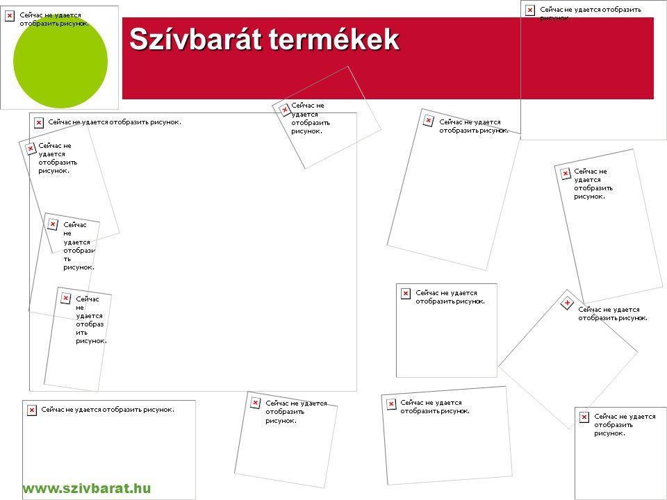 www.szivbarat.hu Company LOGO Szívbarát termékek