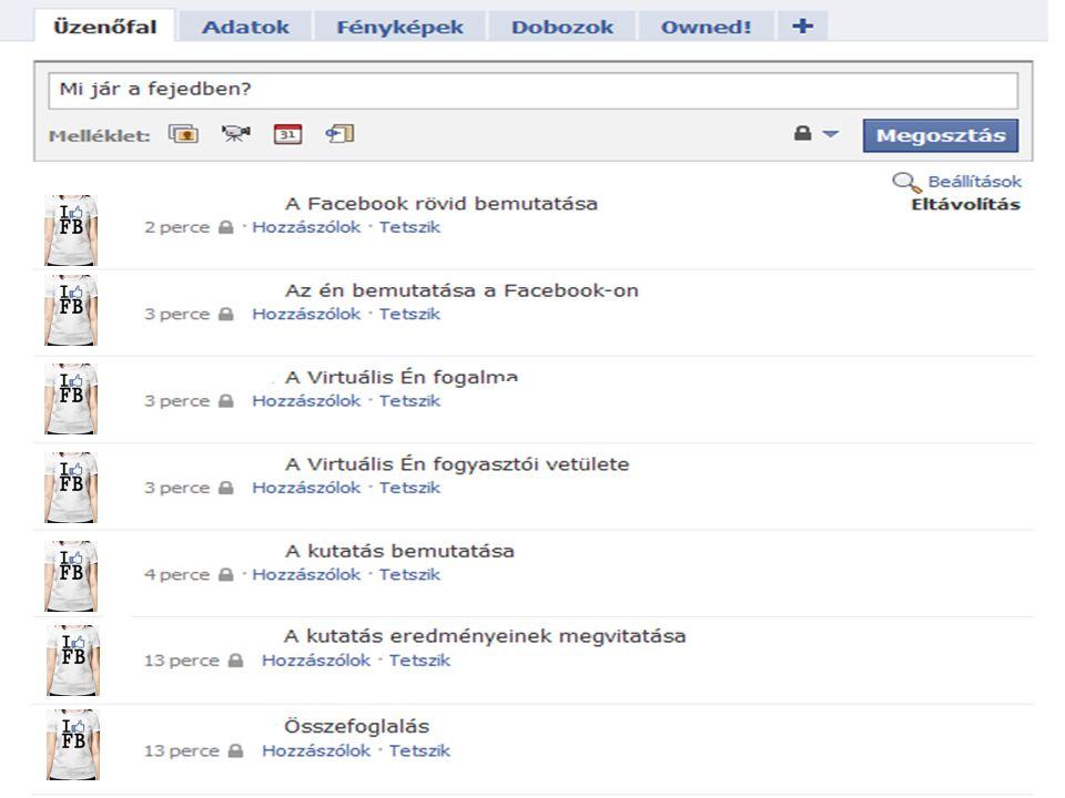 A Facebook egy számítógép vezérelt szociális hálózatépítő rendszer, mely 2004 óta működik Magyarországon 2011-ben már több mint 2,5 millió regisztrált tagja van.