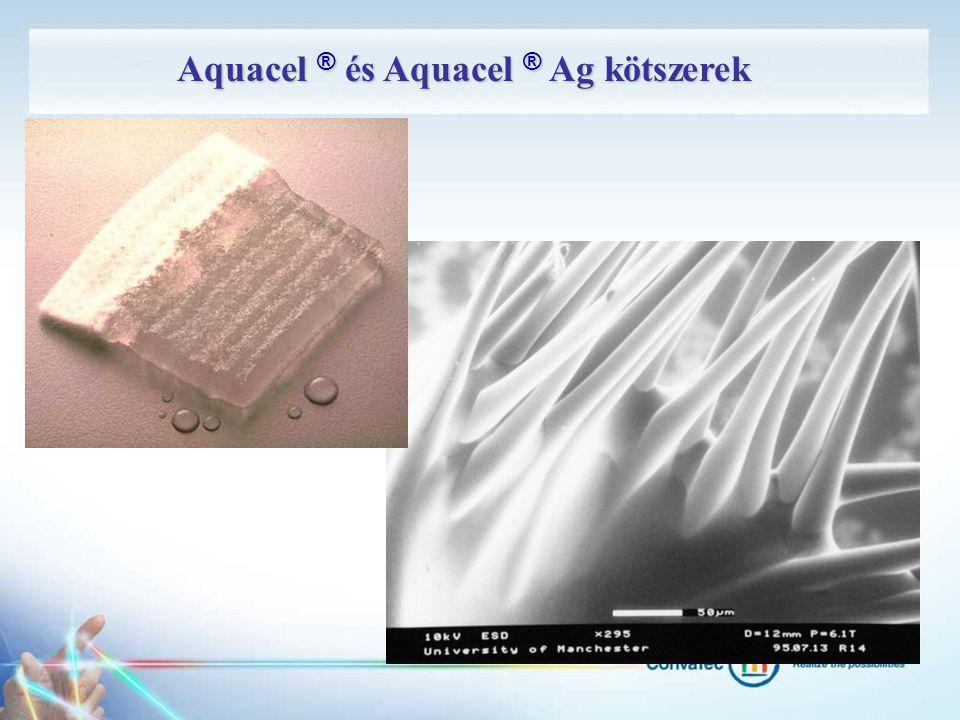 Aquacel ® és Aquacel ® Ag kötszerek