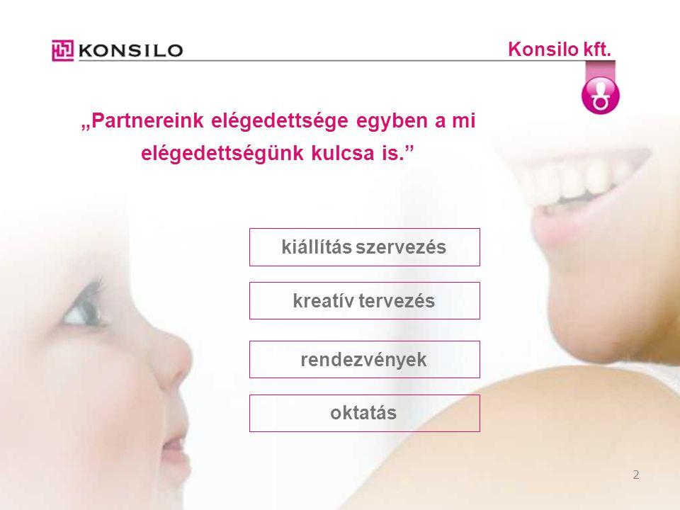 """2 Konsilo kft. kiállítás szervezés """"Partnereink elégedettsége egyben a mi elégedettségünk kulcsa is."""" rendezvények oktatás kreatív tervezés"""