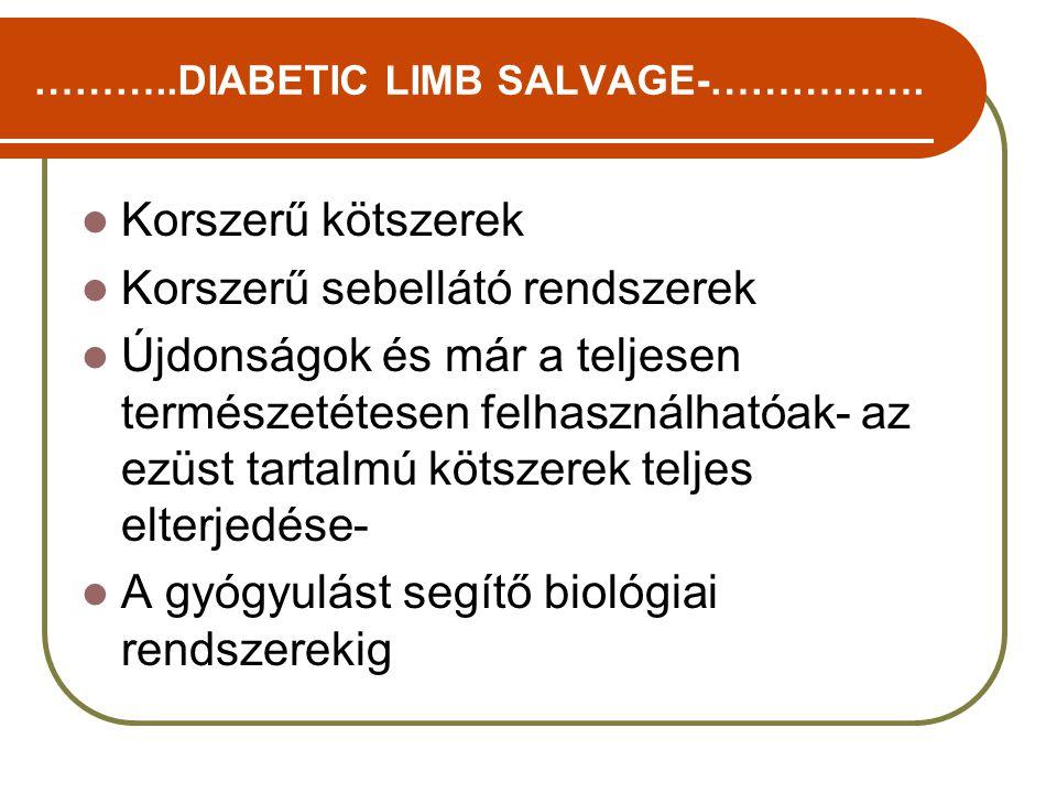 ………..DIABETIC LIMB SALVAGE-…………….