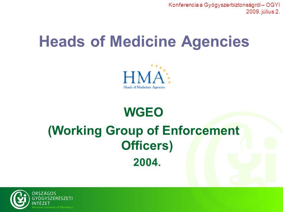 Konferencia a Gyógyszerbiztonságról – OGYI 2009. július 2.