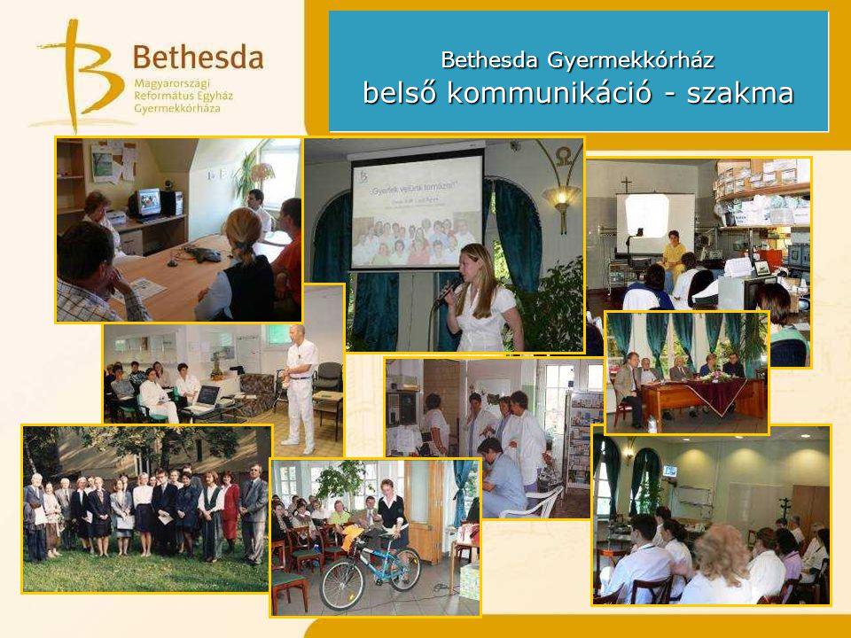 Bethesda Gyermekkórház belső kommunikáció - szakma