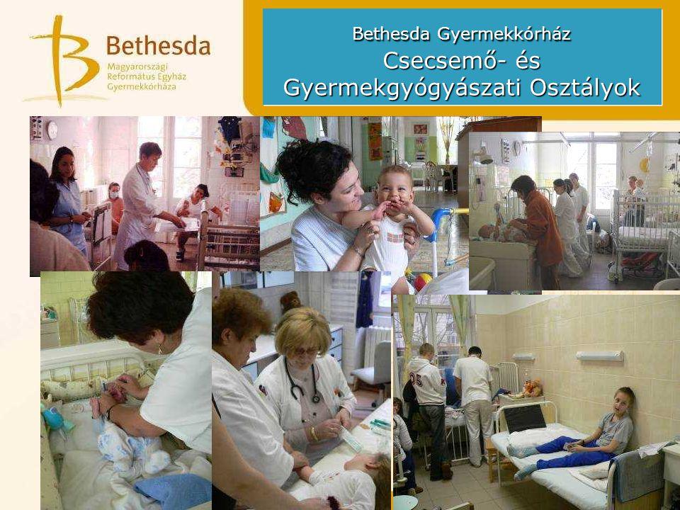 Bethesda Gyermekkórház Csecsemő- és Gyermekgyógyászati Osztályok