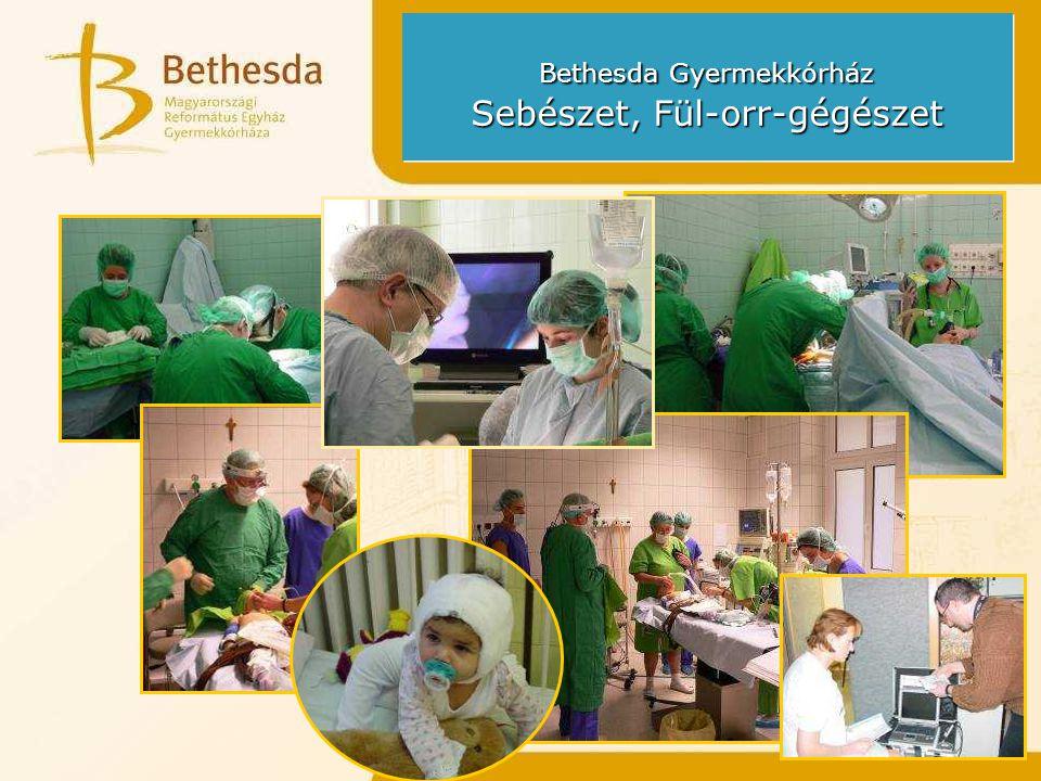 Bethesda Gyermekkórház Sürgősségi Osztály