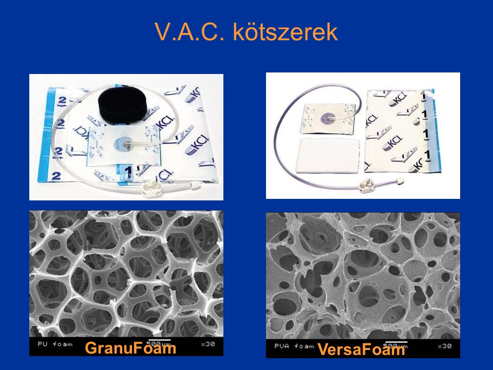 V.A.C. kötszerek GranuFoam VersaFoam
