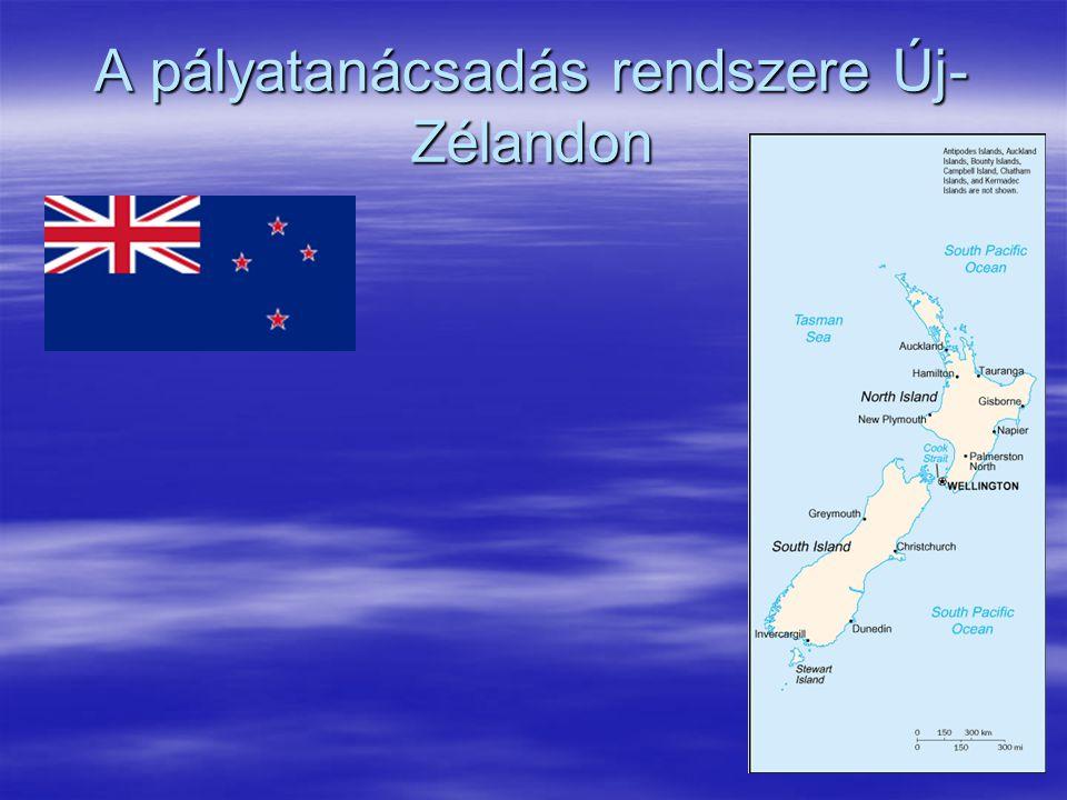 A pályatanácsadás rendszere Új- Zélandon