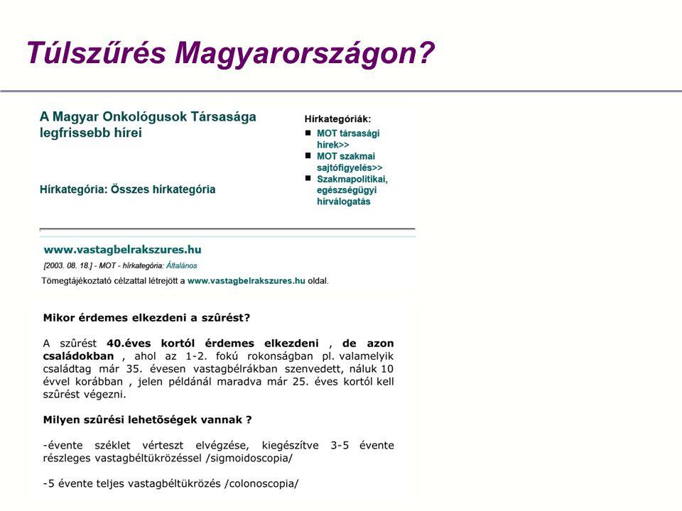 Túlszűrés Magyarországon