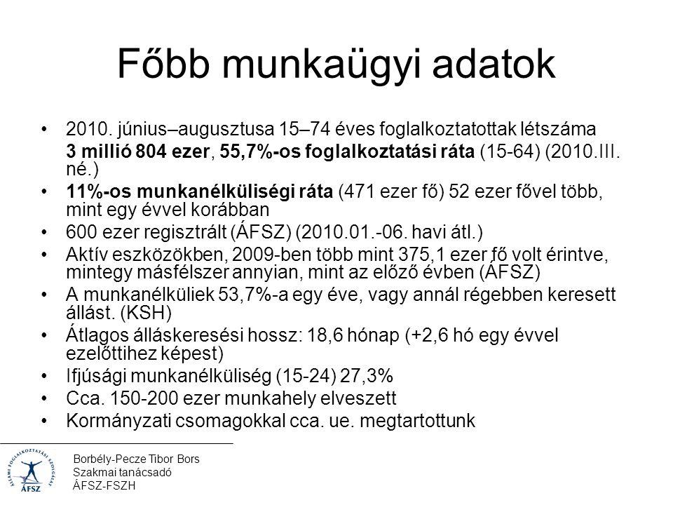 Borbély-Pecze Tibor Bors Szakmai tanácsadó ÁFSZ-FSZH