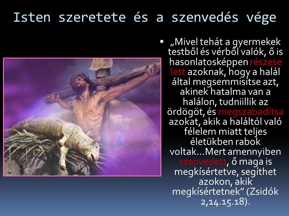 Jób alázata és a szenvedés célja  Jób hódolattal meghajol Isten nagysága előtt  Elismeri a Teremtő mindenhatóságát  Imádkozik a barátaiért  Meggyó