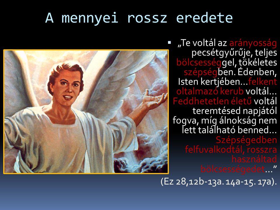 """A földi rossz természete  """"Aki bűnt cselekszik, törvényszegést követ el, mert a bűn törvényszegés"""" (1Jn 3,4).  """"Aki a bűnt cselekszi, az az ördögtől"""