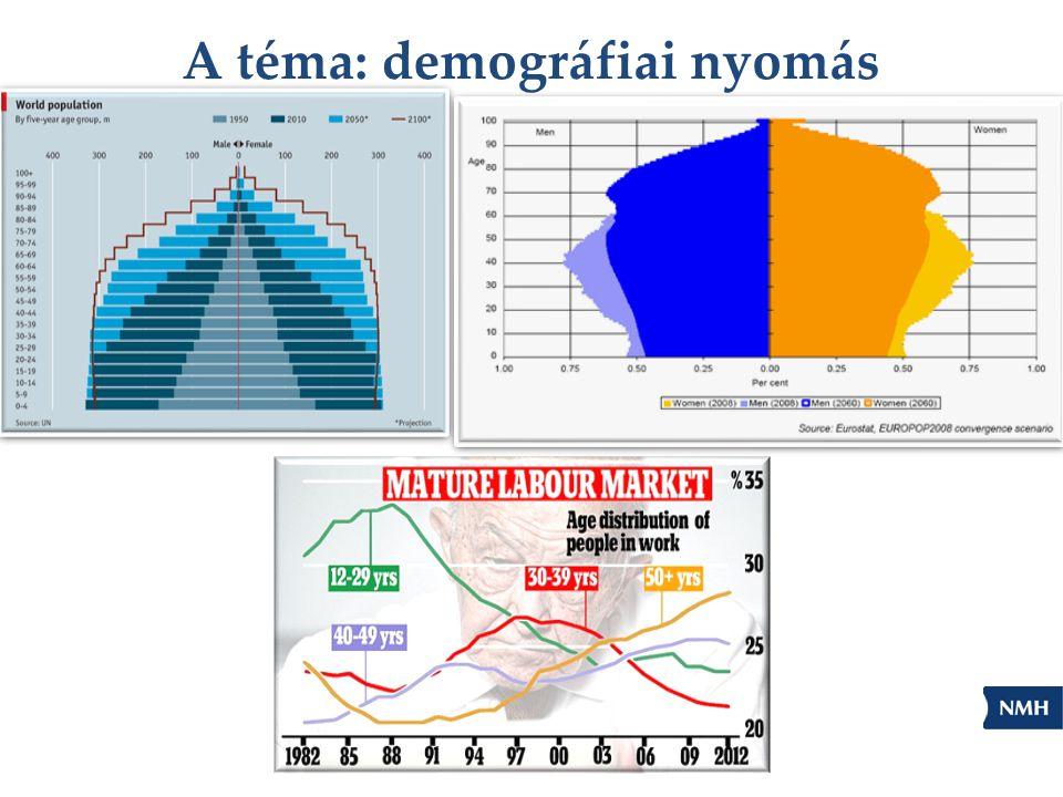 A téma: demográfiai nyomás