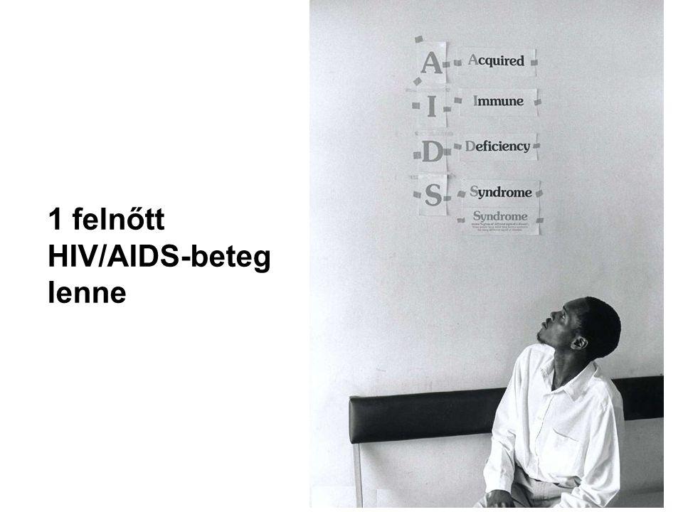 1 felnőtt HIV/AIDS-beteg lenne