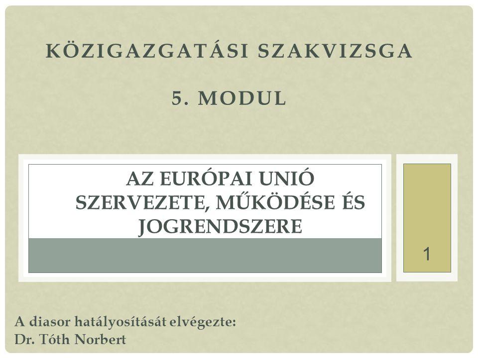 1 KÖZIGAZGATÁSI SZAKVIZSGA 5.