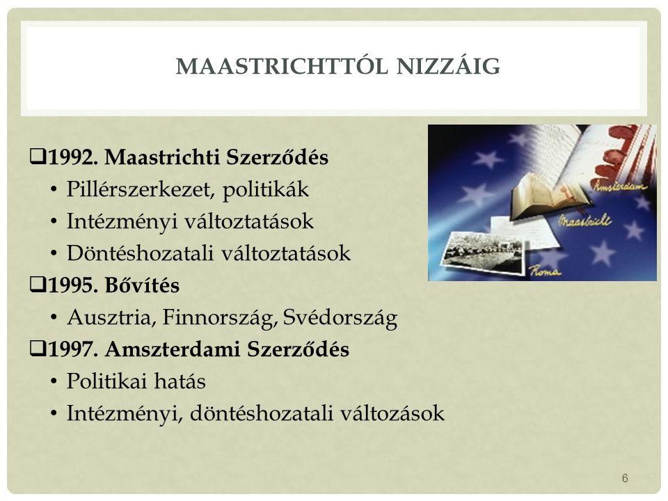 MAASTRICHTTÓL NIZZÁIG  1992.