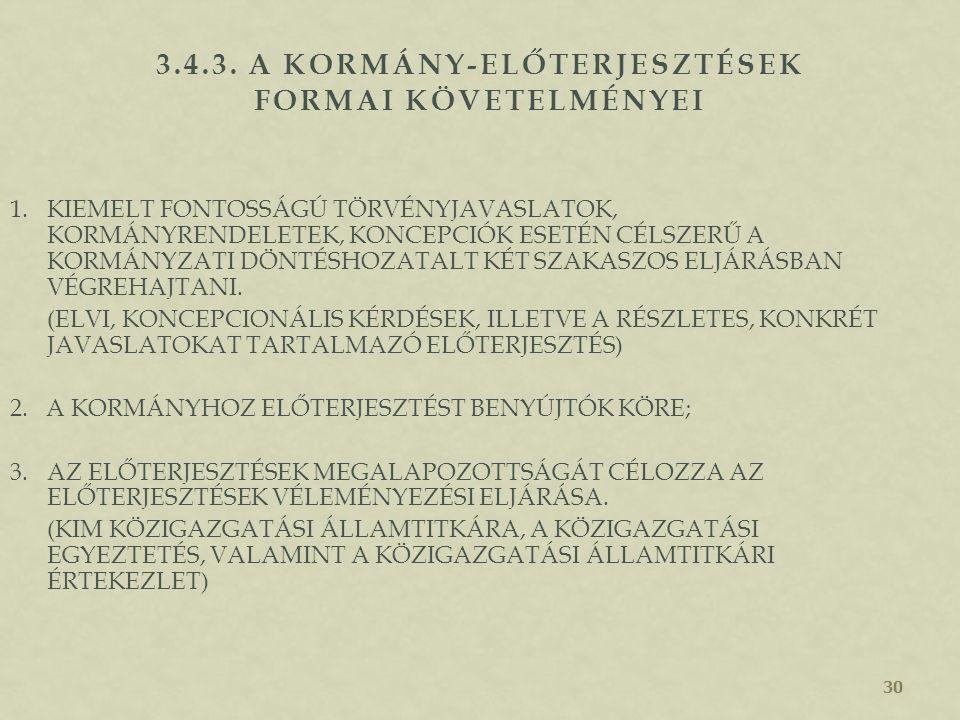 29 A JAVASOLT INTÉZKEDÉS 1.KORMÁNYPROGRAMHOZ VALÓ ILLESZKEDÉSÉT, 2.INDOKAIT, 3.LÉNYEGÉT, 4.FŐBB TARTALMI JELLEMZŐIT, KÖLTSÉGKIHATÁSÁT, VALAMINT 5.VÁRH