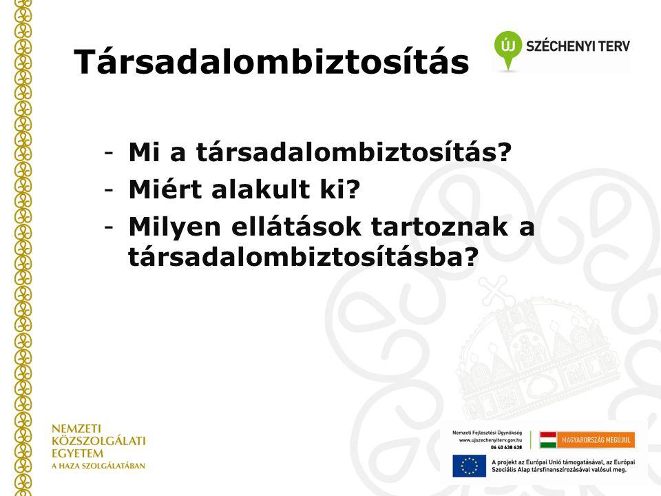 Jogszabályi alapok -1997.évi LXXX.